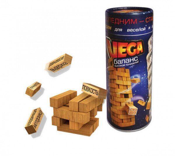 Вега Баланс Настольная игра Дженга Danko toys