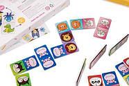 Детское домино Животные DOMINO Animals color set (ABC Home), фото 2