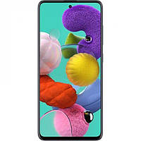 Смартфон Samsung Galaxy A51 2020 4/64GB Black (SM-A515FZKU)