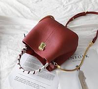 Стильная маленькая женская сумка. Модель 488, фото 4