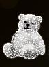 """3D светодиодная фигура """"Медведь"""" 225X180cm"""