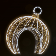 """3D светодиодная конструкция """"Арка"""" Ø490cm"""