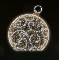 """3D светодиодная фигура """"Шар"""" Ø200cm"""
