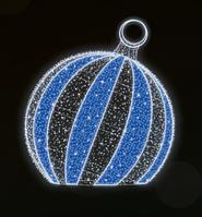 """3D світлодіодна фігура """"Куля"""" Ø200cm"""