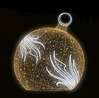 """3D світлодіодна фігура """"Куля"""" Ø300cm"""