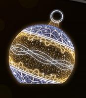 """3D светодиодная фигура """"Шар"""" Ø300cm"""