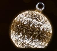 """3D светодиодная фигура """"Шар"""" Ø400cm"""