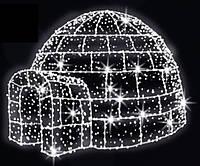 """3D светодиодная фигура """"Юрта"""" 200X200cm"""