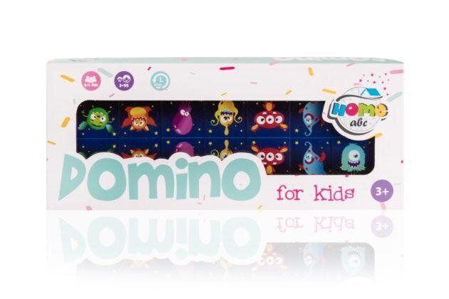 Детское Домино с картинками Funny Monsters (ABC Home)