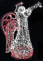 """3D світлодіодна фігура """"Ангел"""" 500X150cm"""
