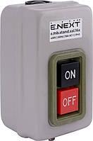 Кнопковий пост металевий e.mb.stand.xal.10a 3 фази, 10А, On-Off