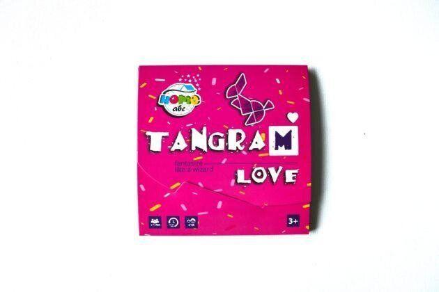 Детский танграм Сердце Love (ABC Home)