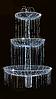 """3D светодиодная конструкция """"Фонтан"""" 290х170cm"""