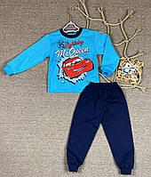 Детская  пижама начёс тачки, фото 1