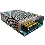 Импульсный блок питания Адаптер 12V 15A METAL, фото 2