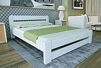 Двуспальная Кровать из дерева сосна 120*190 Престиж MECANO цвет Белый 19MKR017