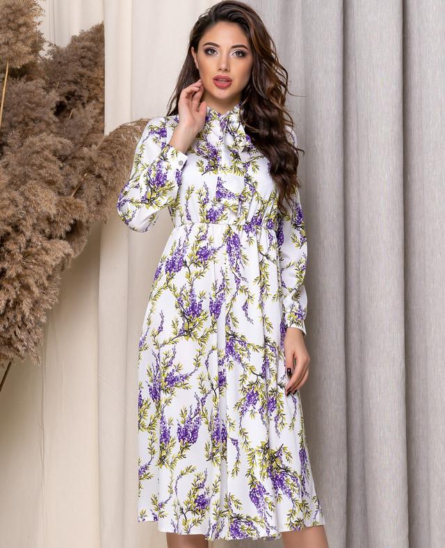 Романтическое платье с завышенной талией