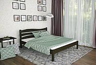 Двуспальная Кровать из дерева сосна 120*190 Посейдон MECANO цвет Венге 18MKR022