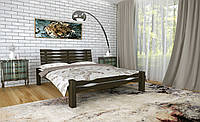 Двуспальная Кровать из дерева сосна 160*200 Веста MECANO цвет Венге 4MKR019, фото 1