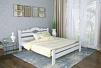 Двуспальная Кровать из дерева сосна 140*190 Тейя MECANO цвет Белый 21MKR013
