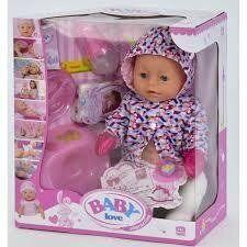 Пупс интерактивный BABY LOVE аналог BABY BORN BL 023 S