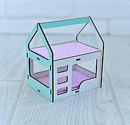 Двухъярусная кроватка домик для кукол LOL, фото 3