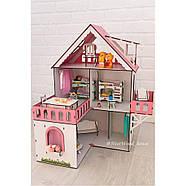 """""""МИНИ КОТТЕДЖ"""" кукольный домик NestWood для LOL, без мебели, розовый, фото 8"""