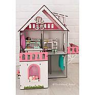 """""""МИНИ КОТТЕДЖ"""" кукольный домик NestWood для LOL, без мебели, розовый, фото 10"""