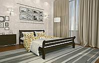 Кровать Двуспальная из дерева сосна 120*190 Аркадия MECANO цвет Венге 3MKR019, фото 1