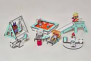 """Игровой набор """"Большой Особняк для LOL/OMG/Барби"""" кукольный домик NestWood с мебелью и аксессуарами, фото 5"""