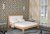 Двуспальная Кровать из дерева сосна 180*200 Дионис MECANO цвет Светлый орех 10MKR07