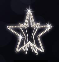 """3D светодиодная фигура """"Звезда"""" Ø150cm"""