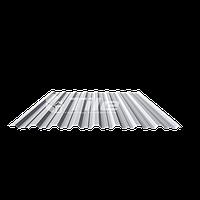 Профнастил TILE H-20 толщиной 0,5 мм RAL 1015 глянец Arcelor Mital