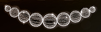 Светодиодная перетяжка уличная 150Х600cm