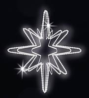 """3D светодиодная фигура """"Звезда"""" Ø100cm"""