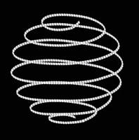 """3D светодиодная конструкция """"Новогодняя"""" Ø100cm"""