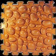 Коврик массажный Пазлы Микс Ежики 1 элемент, фото 2