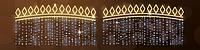 Светодиодная LED перетяжка уличная 185X255cm x1