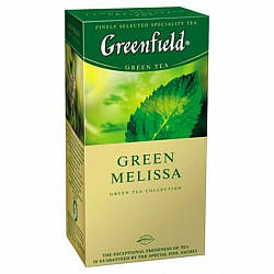 Чай зелений з мелісою Greenfield Green Melissa 25 пак.