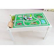 Детский Световой стол-песочница для анимации Noofik (МДФ, белый) и стульчик., фото 6