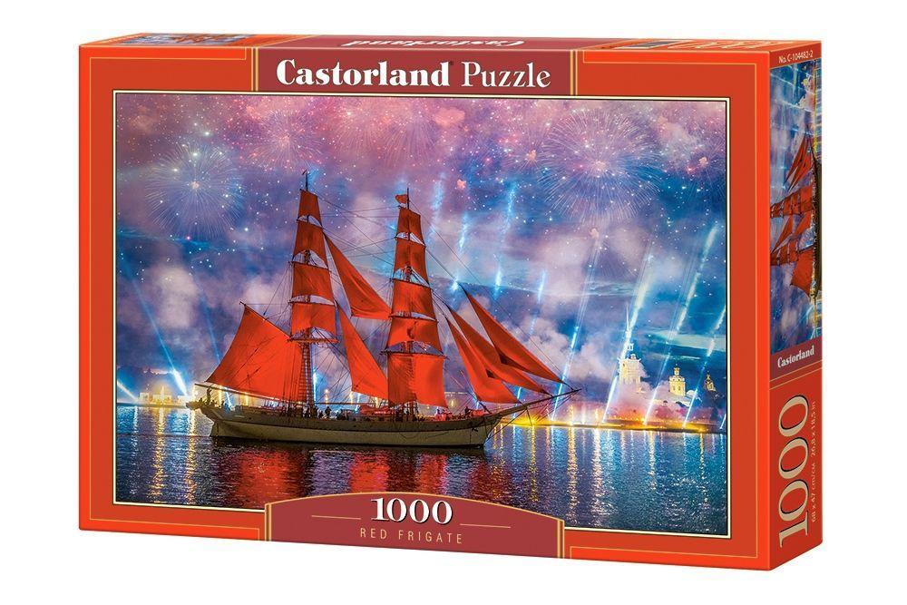 Пазлы Алые паруса, 1000 элементов Castorland