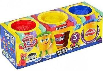 """Тесто для лепки """"Master Do"""", 3 банки - Danko Toys"""