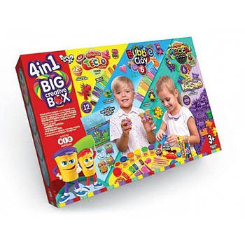 "Набор для творчества ""Big Creative Box 4в1"" Danko Toys"