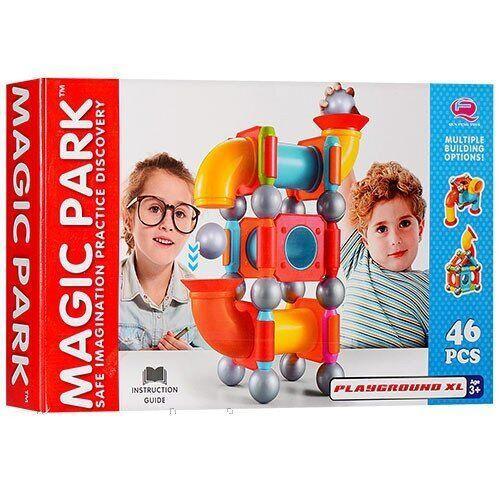 Магнитный Конструктор Magic Park, 46 Деталей (Playground xl)