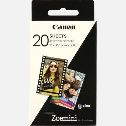 Фотобумага CANON (ZP-2030) Zink 5x7.6cм 20л (3214C002)