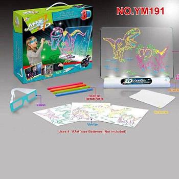 3D доска YM191 динозавр