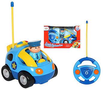 Детская радиоуправляемая полицейская машина 6601