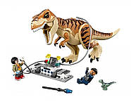"Конструктор Bela 10927 ""Транспорт для перевозки Тираннозавра"" 638 дет. (аналог Lego Jurassic World 75933), фото 3"