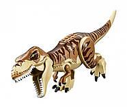 "Конструктор Bela 10927 ""Транспорт для перевозки Тираннозавра"" 638 дет. (аналог Lego Jurassic World 75933), фото 7"