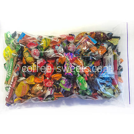 Набор конфет 500г карамельки и леденцы ассорти, фото 2